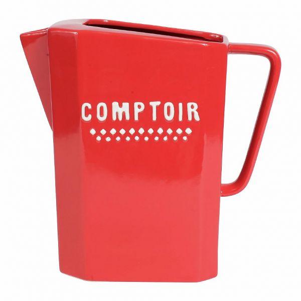 КУВШИН, COMPTOIR DE FAMILLE,  PITCHER COMPTOIR RED 1.5L PORCELAIN, АРТИКУЛ 164210