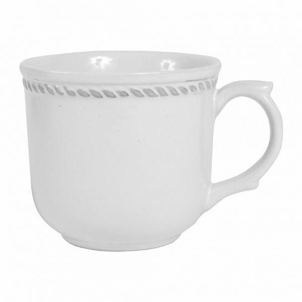 ЧАЙНАЯ ПАРА, COMPTOIR DE FAMILLE,  TEA CUP & SAUCER FABRIQUE WHITE 19CL PORCELAIN, АРТИКУЛ 164250