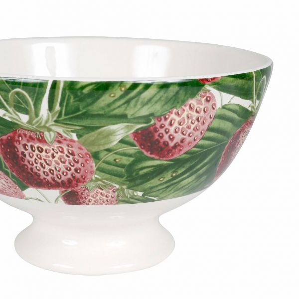 ПИАЛА, COMPTOIR DE FAMILLE,  BOWL STRAWBER COLLECTION RED 75CL EARTHENWARE, АРТИКУЛ 200436