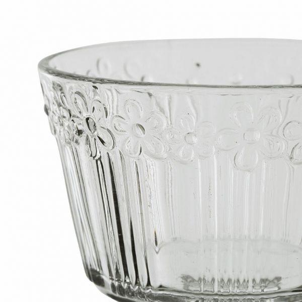 КРЕМАНКА ДЛЯ МОРОЖЕННОГО, COMPTOIR DE FAMILLE,  ICE CREAM CUP FLEURICE D11XH10.5CM GLASS, АРТИКУЛ 200609