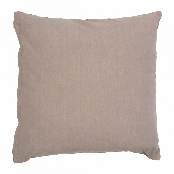ПОДУШКА  , COMPTOIR DE FAMILLE,  CUSHION GASTON GREY 45X45CM COTTON, АРТИКУЛ 200763