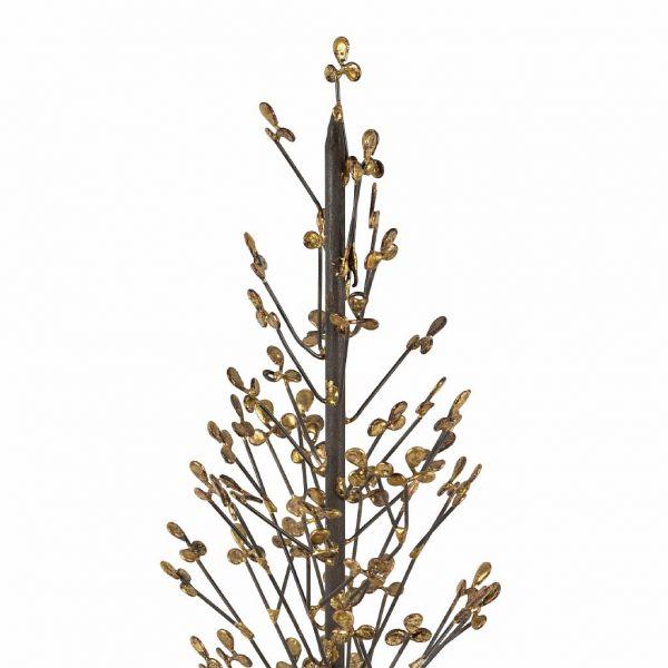 НАБОР 2 ШТ., COMPTOIR DE FAMILLE,  DECO CHRIST TREE X2 COUR-HIVER D17H47+D10H37 IRON, АРТИКУЛ 201110