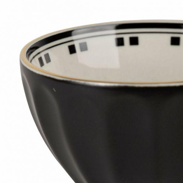 ПИАЛА, COMPTOIR DE FAMILLE,  BOWL BIST-MADEL BLACK 30CL-D10.5H6 PORCELAIN, АРТИКУЛ 201145