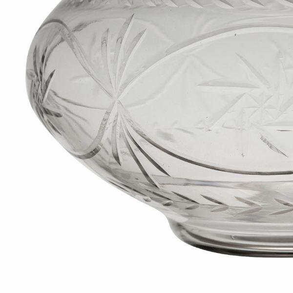 ВАЗА, COMPTOIR DE FAMILLE,  VASE EOLINE D25XH19CM GLASS, АРТИКУЛ 201194