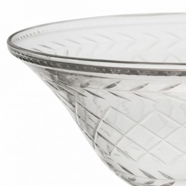 ВАЗА НА НОЖКЕ, COMPTOIR DE FAMILLE,  FOOTED BOWL EOLINE D21XH11CM GLASS, АРТИКУЛ 201201