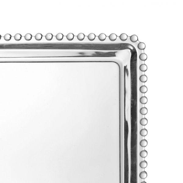 БЛЮДО поямоугольное PERLOA 36.2X18.6CM GLASS COTE TABLE, АРТИКУЛ 31427