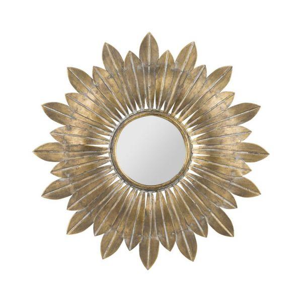 Зеркало BELISAMA GOLD D31,5CM IRON+MIRROR COTE TABLE, Арт,: 34414