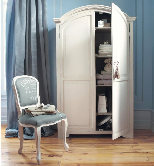 Шкаф кремового цвета Ardoise AR12 Mebel Provence