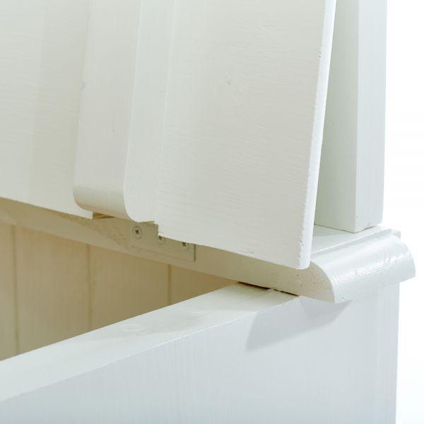 Вешалка пристенная для одежды в прихожую с сундуком Geranium GR0421 Mebel Provence