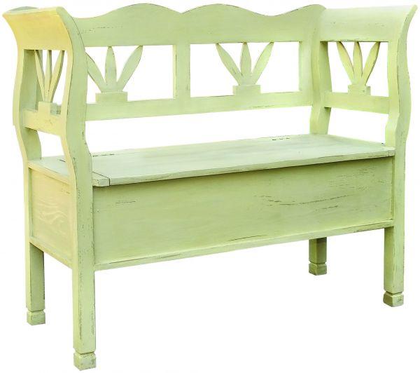 Скамейка с ящиком Avignon AV04 Mebel Provence