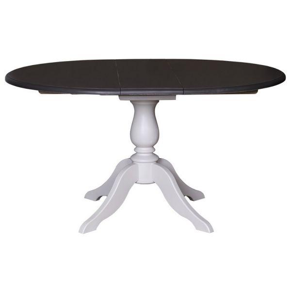 СТОЛ РАСКЛАДНОЙ КРУГЛЫЙ Table central leg  120/160x78+1 см., extension АРТ.GR228