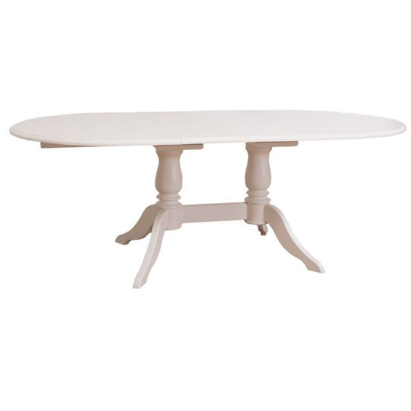 СТОЛ ОВАЛЬНЫЙ Oval table 2 legs 160/230x120х78см., АРТ.GR379