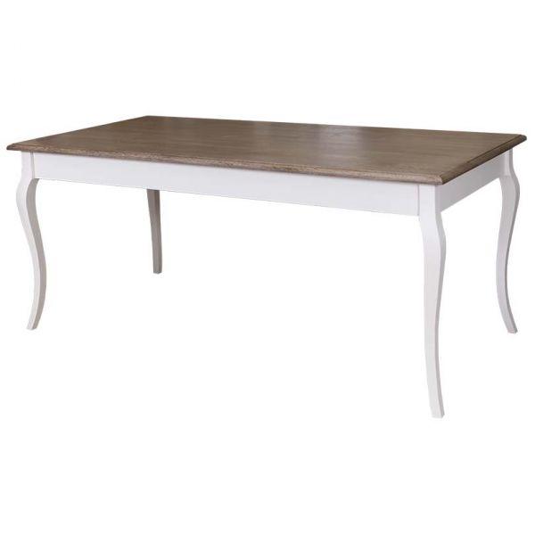 СТОЛ ОБЕДЕНЫЙ Dining table curved legs 160X90х78 см.,  АРТ.GR383-160