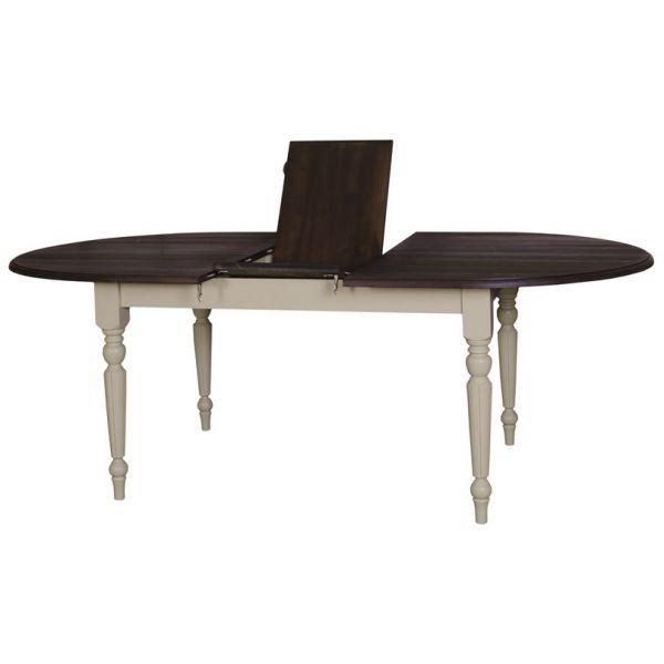 СТОЛ ОВАЛЬНЫЙ РАСКЛАДНОЙ Extendible oval table 160/220х120х78см., АРТ.GR524-160/200