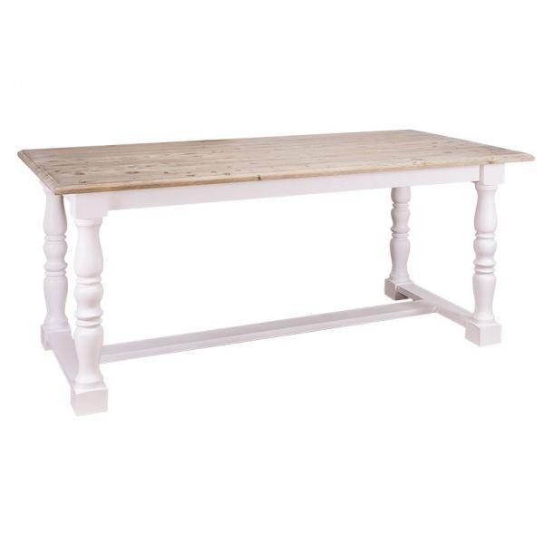 СТОЛ ОБЕДЕНЫЙ Turned leg monasterial table 160x90х78см., АРТ.GR581-160