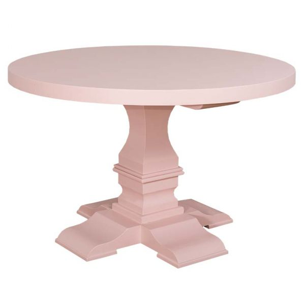 СТОЛ КУРГЛЫЙ 130*130*78 СМ.,Table central leg, colonial АРТ.GR624-130