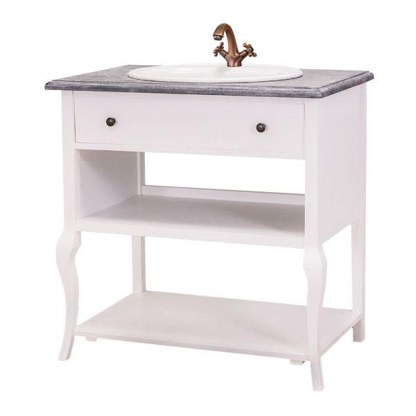 ТУМБА ПОД РАКОВИНУ ДЛЯ ВАННОЙ Curved leg bathroom small cabinet - without sink АРТ.GR628
