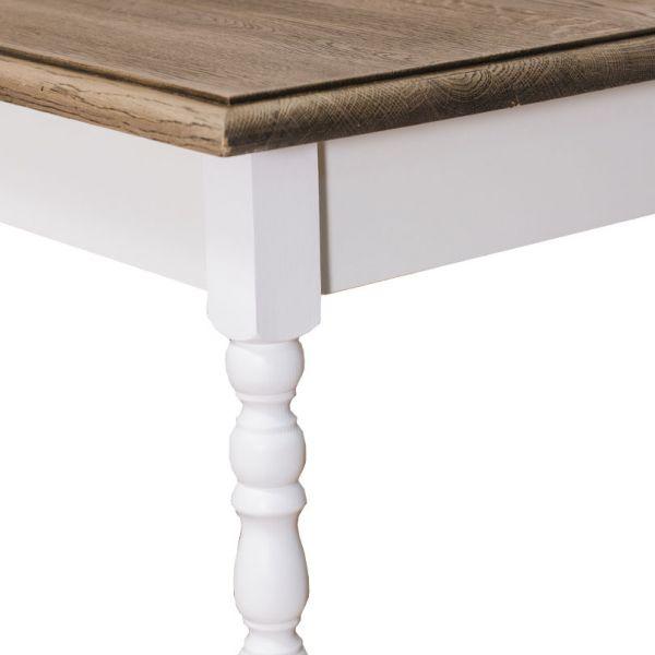 СТОЛ ОБЕДЕНЫЙ dining table, turned legs 120x70 АРТ.GR660-120