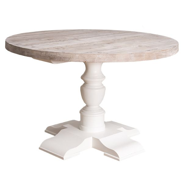 СТОЛ КУРГЛЫЙ 130*130*78 СМ., Colonial table with turned central leg АРТ.GR676