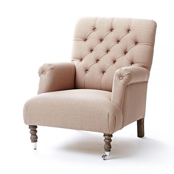 Кресло Iris 11 GR0811 beg Mebel Provence